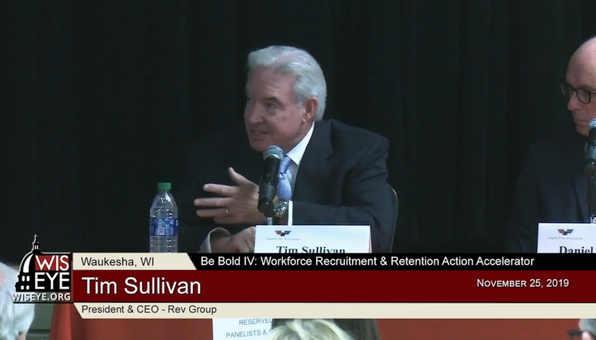Action Accelerator Panel 1: High Stakes & Pain Points - A Private Sector Perspective on Wisconsin's Workforce