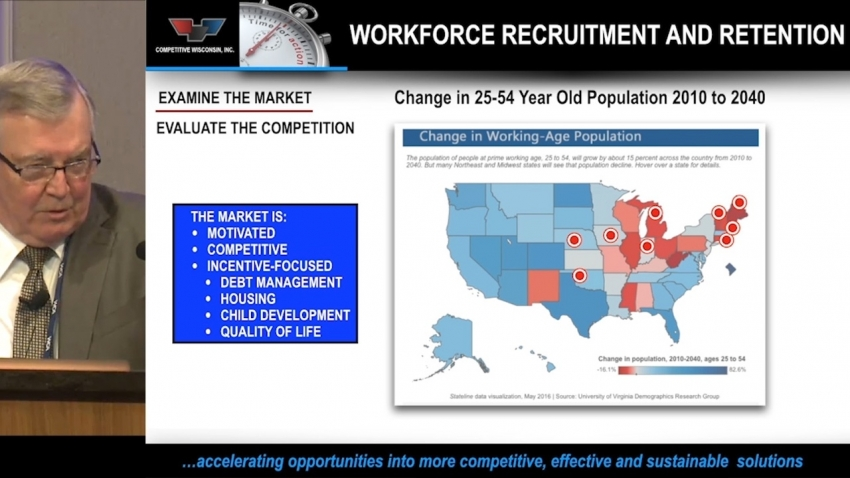 Improving & Funding More Competitive, Sustainable & Effective Recruitment and Retention Efforts